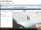 Google map 拍到的天外飛仙