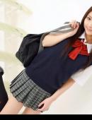 學生妹超短裙制服寫真