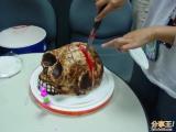 生日蛋糕很帥唷 你敢吃嗎