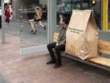 外帶麥當勞 超大包