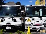 卡哇伊! 日本校車也賣「萌」 連大人都想坐