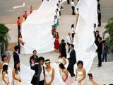 最長的婚紗