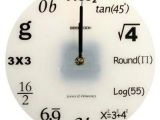 據說是愛英斯坦家的鐘