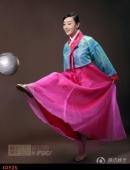 高清:趙子琪化身足球寶貝 趣味韓妝造型出鏡