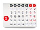月曆中隱藏的有趣數字