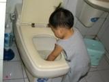 媽媽說上完廁所要洗手