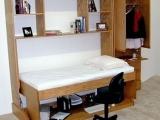 是床也是書桌,太方便了吧