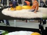 這創意好~加根火腿抱枕就更完美了!