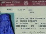 阿拉伯駕照,全家女性都通用?
