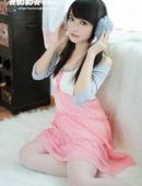 黃雅知粉色清純寫真圖片