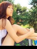 浪漫青春氣質甜美女孩