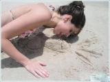 沙灘上的瘋狂遊戲
