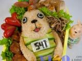 今晚我的晚餐是 [監獄兔] 便當 !!!