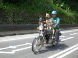 來看看台灣人怎麼載狗的