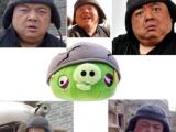 【生氣鳥】裡的頭盔豬還真的有明星臉~~ 超像阿!!