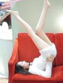 彤彤的性感美腿健身操