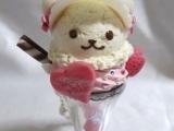 很可愛的小熊雪糕
