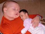 當爸爸和兒子互換腦袋之後... (笑)
