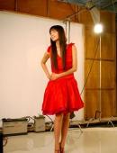高清:林志玲化身百變女模 演繹個性色彩代言
