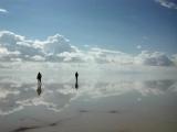 世界上最大的鏡子:烏尤尼鹽湖