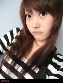 可愛Akyo的微笑蜜桃秀