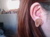 今天我裝了一個小耳朵