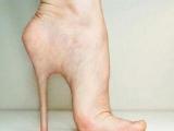 高跟鞋千萬別穿太久,腳會變形!