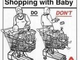 不要跟寶寶逛超市