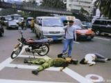交通事故發生後 (這裡是大陸)