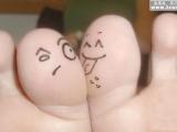 腳趾頭從來和可愛沾不上邊!這個會令你對腳趾頭改觀耶~