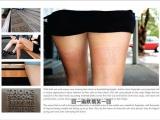 如何將廣告印上美女大腿