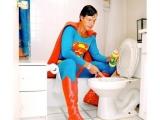 超人在家刷馬桶 英雄下班都幹啥
