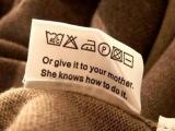 """這世界上竟然有如此""""人性化""""的衣服洗標!"""