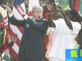 布什也學會了肢體語言