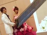 結婚就是要這樣切蛋糕才驚人